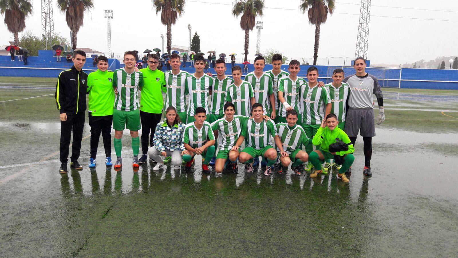 El equipo cadete del Atlético Estación consigue el ascenso a Segunda Andaluza