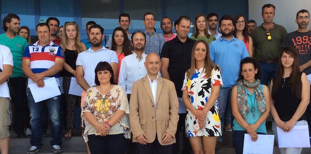 La Junta entrega resoluciones de ayudas a 23 nuevos jóvenes agricultores del Guadalhorce
