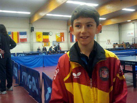 Francisco M. Ruiz, noveno en el Máster Europeo de tenis de mesa de Bélgica