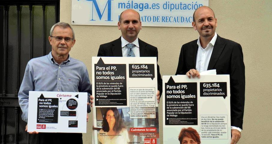 PSOE y PP se enfrentan por el Plan de Apoyo Fiscal puesto en marcha por la Diputación