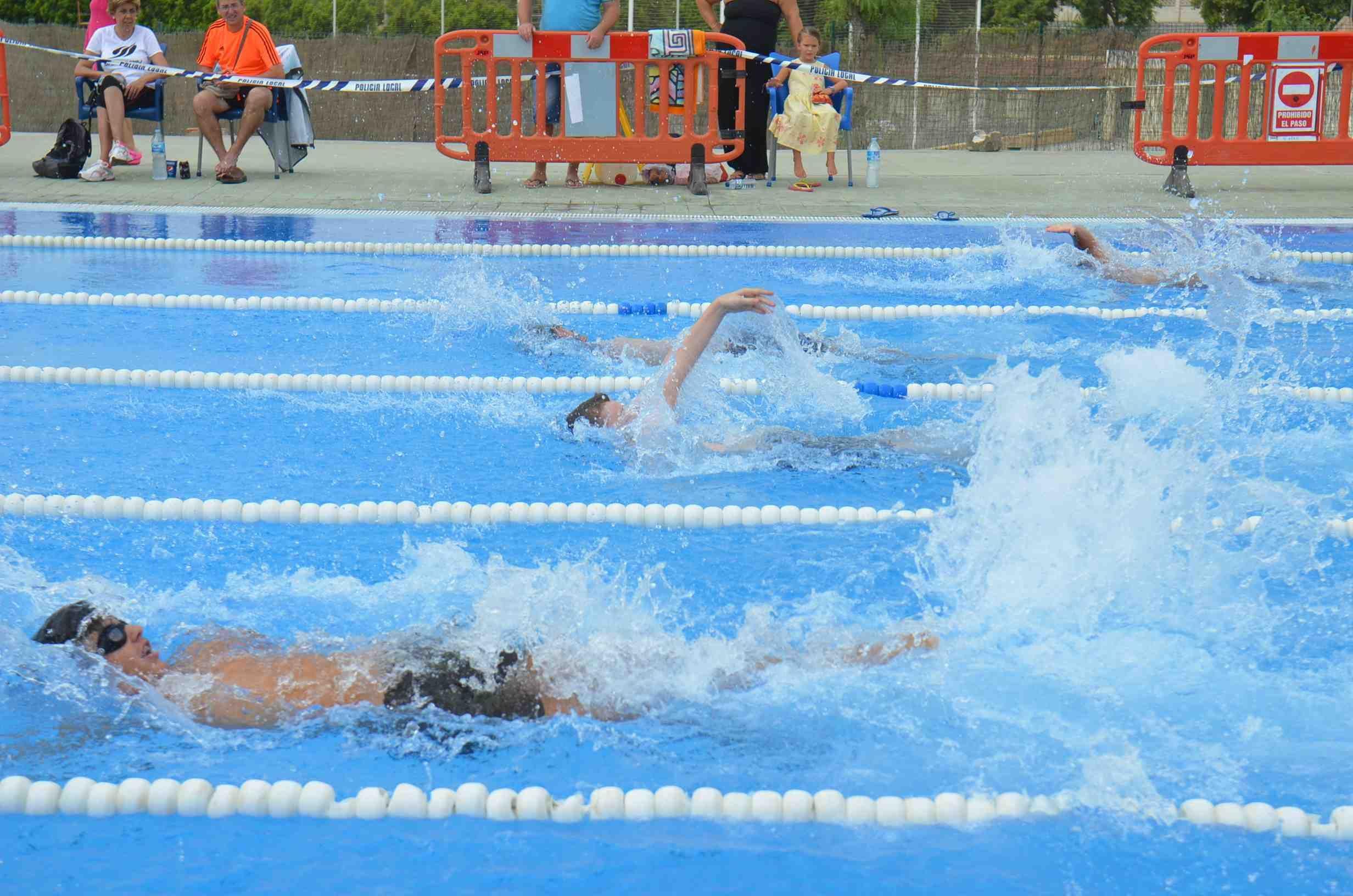 La campaña de natación finaliza con la participación de más de 500 alumnos