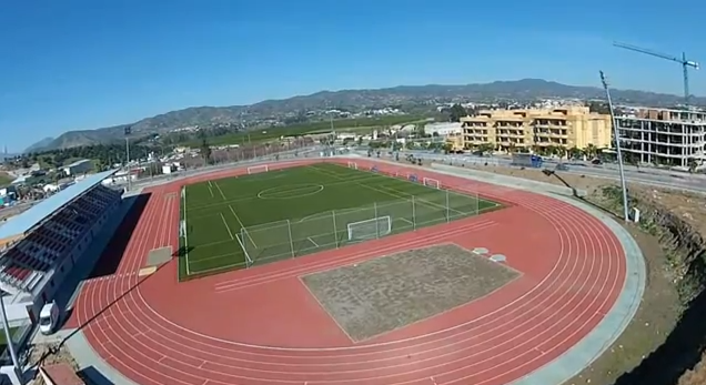 El estadio de la Ciudad Deportiva, a vista de pájaro