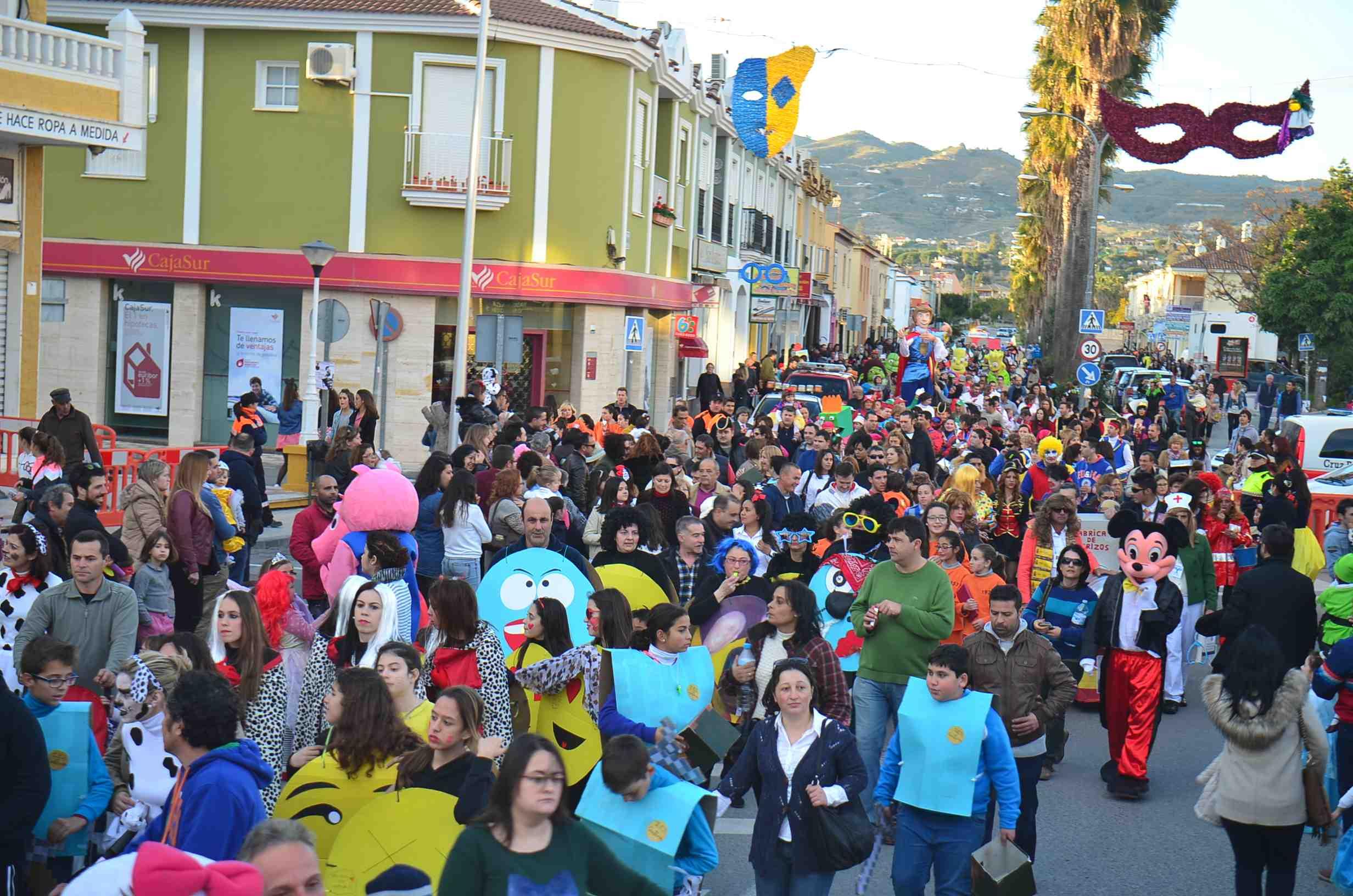 El Carnaval vuelve a las calles de Cártama