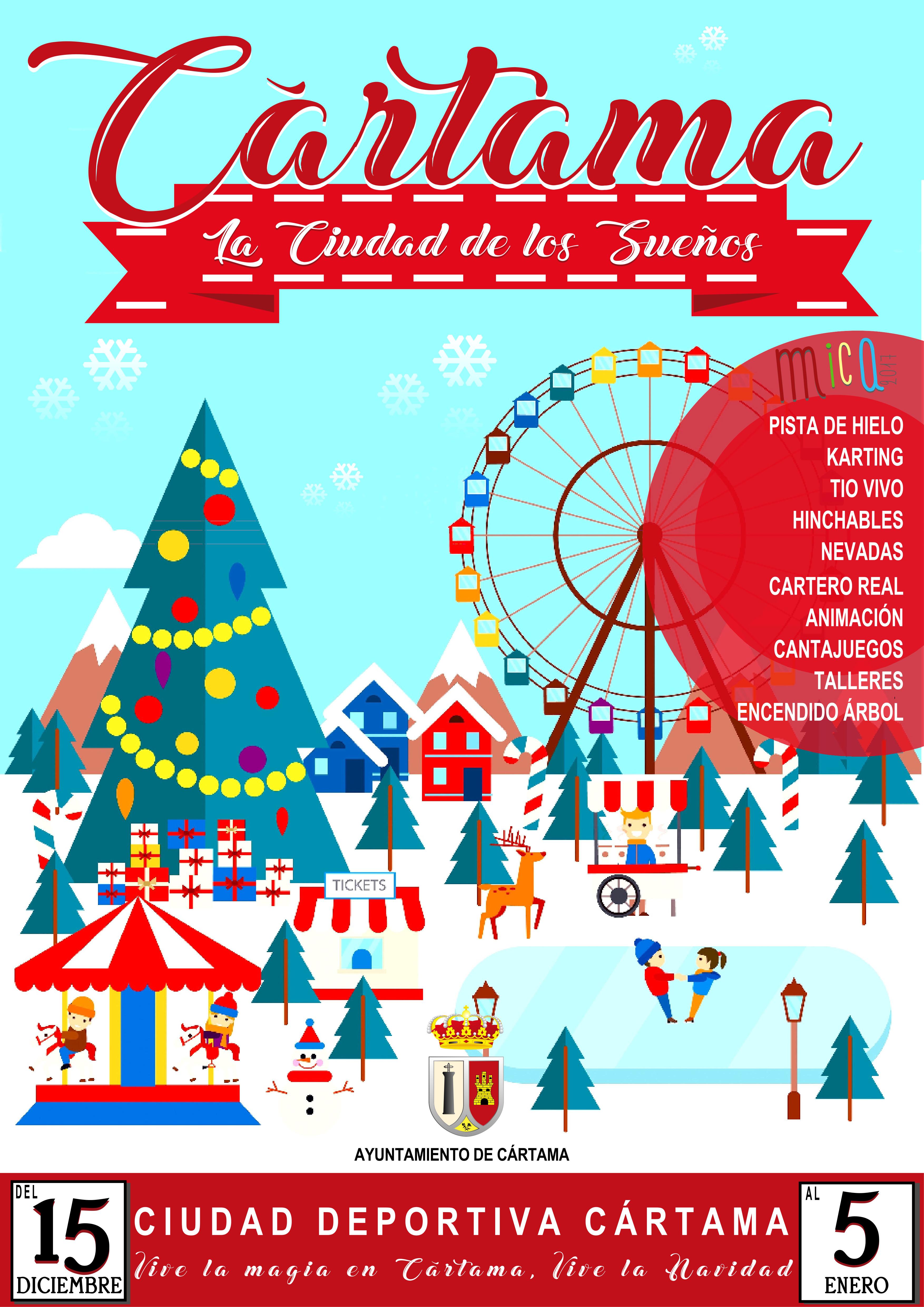 Cártama, Ciudad de los Sueños: todas las actividades de esta Navidad