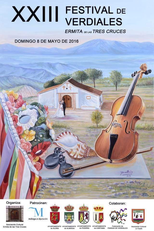 El XXIII Festival de Verdiales Ermita de las Tres Cruces se celebra este domingo
