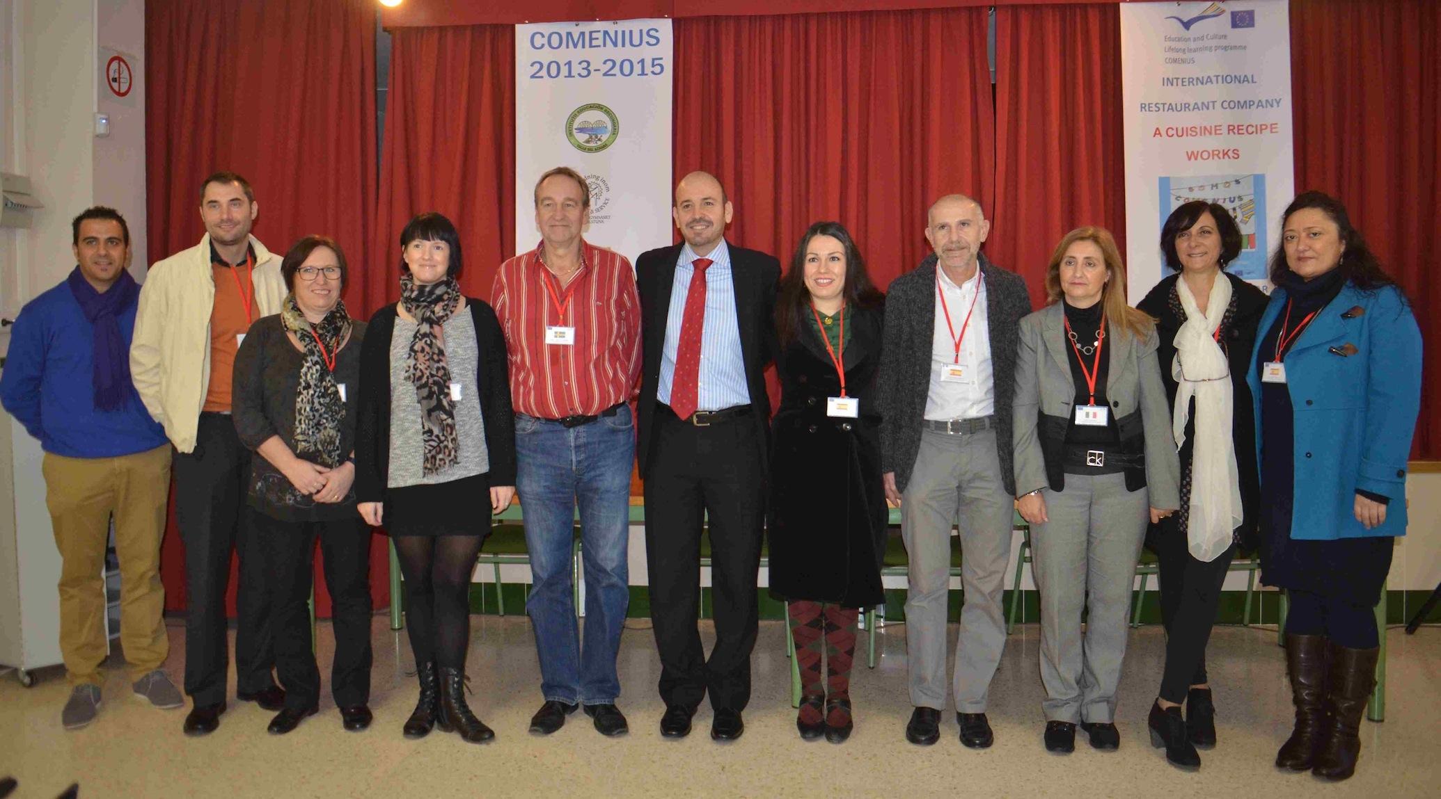 Arranca el proyecto Comenius, que une al IES Valle del Azahar con centros de Italia, Suecia y Noruega por el emprendimiento