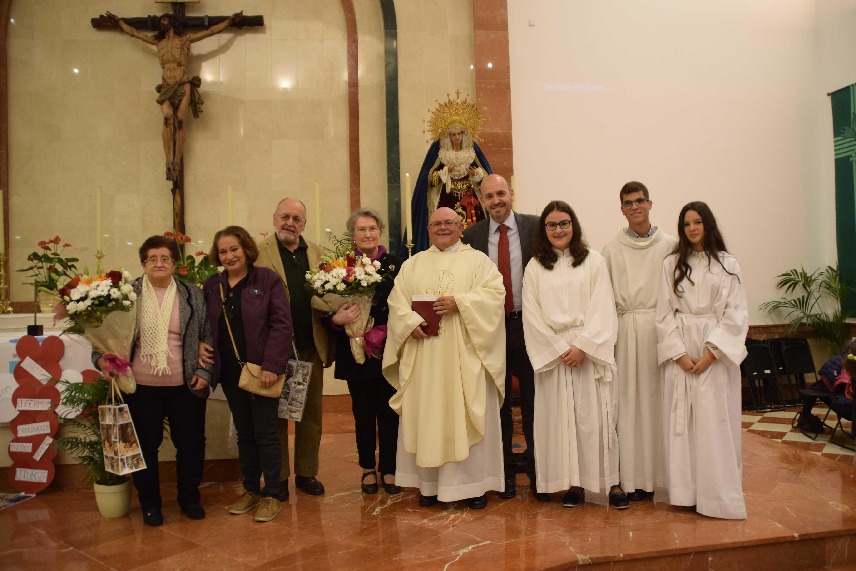 La parroquia de San Isidro celebra su quinto aniversario de consagración