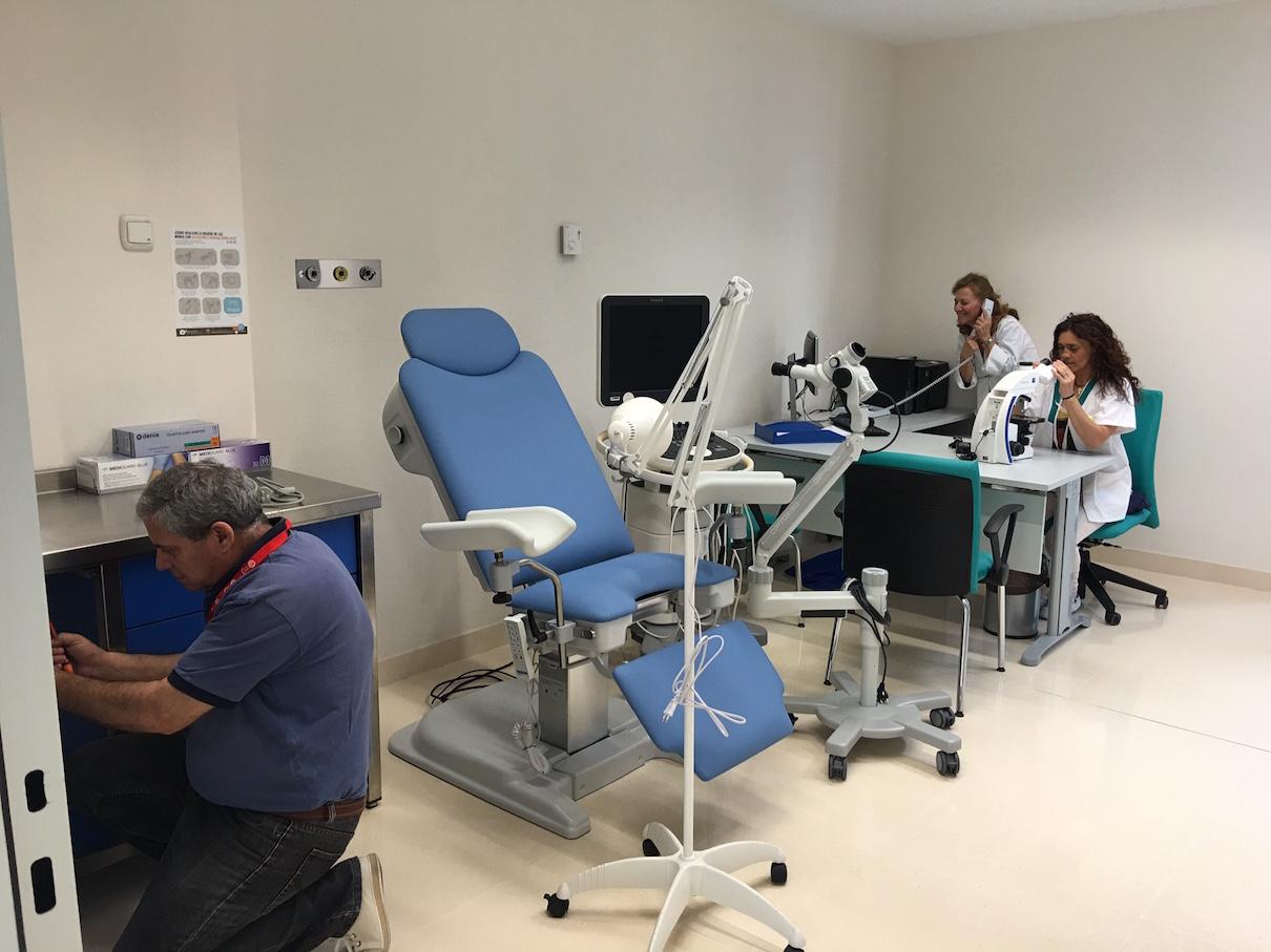 El Hospital del Guadalhorce atenderá mañana a sus primeros pacientes
