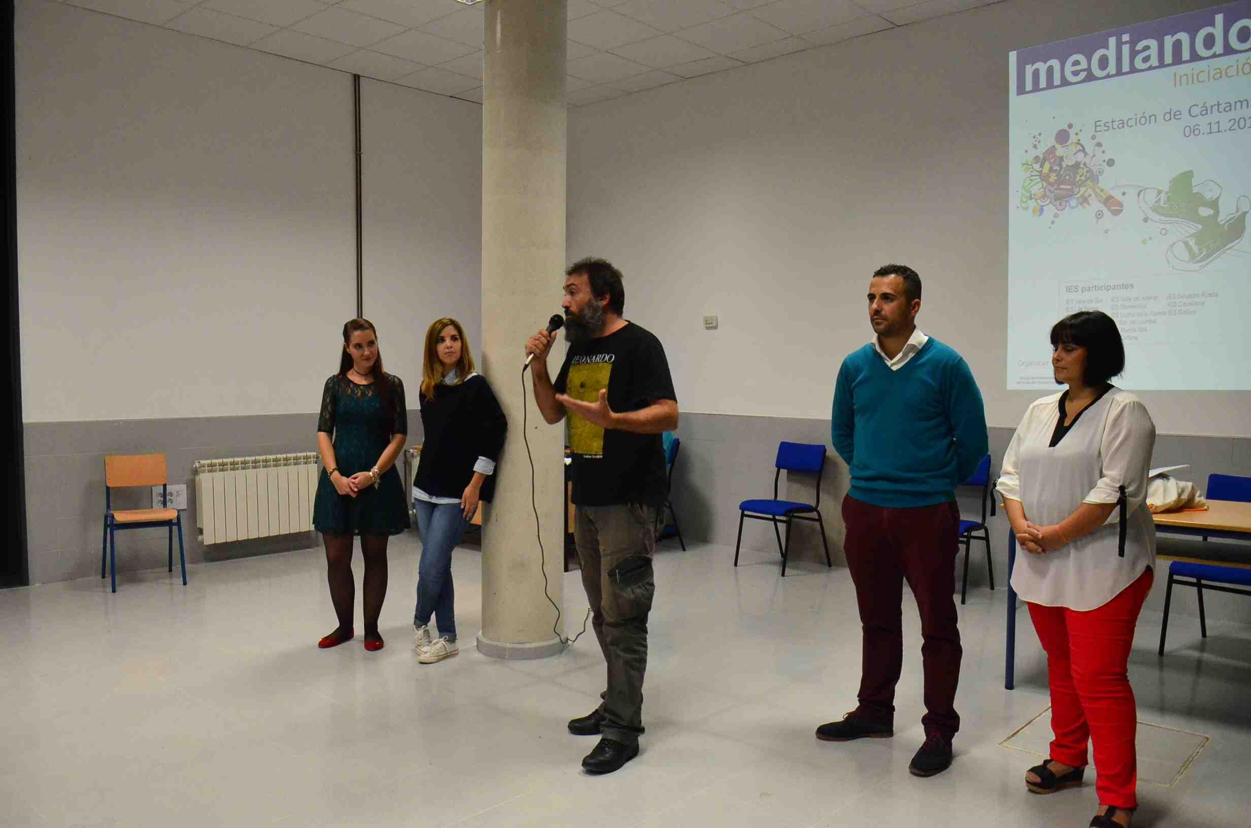 El IES Cartima acoge unas jornadas para formar un nuevo equipo de mediadores