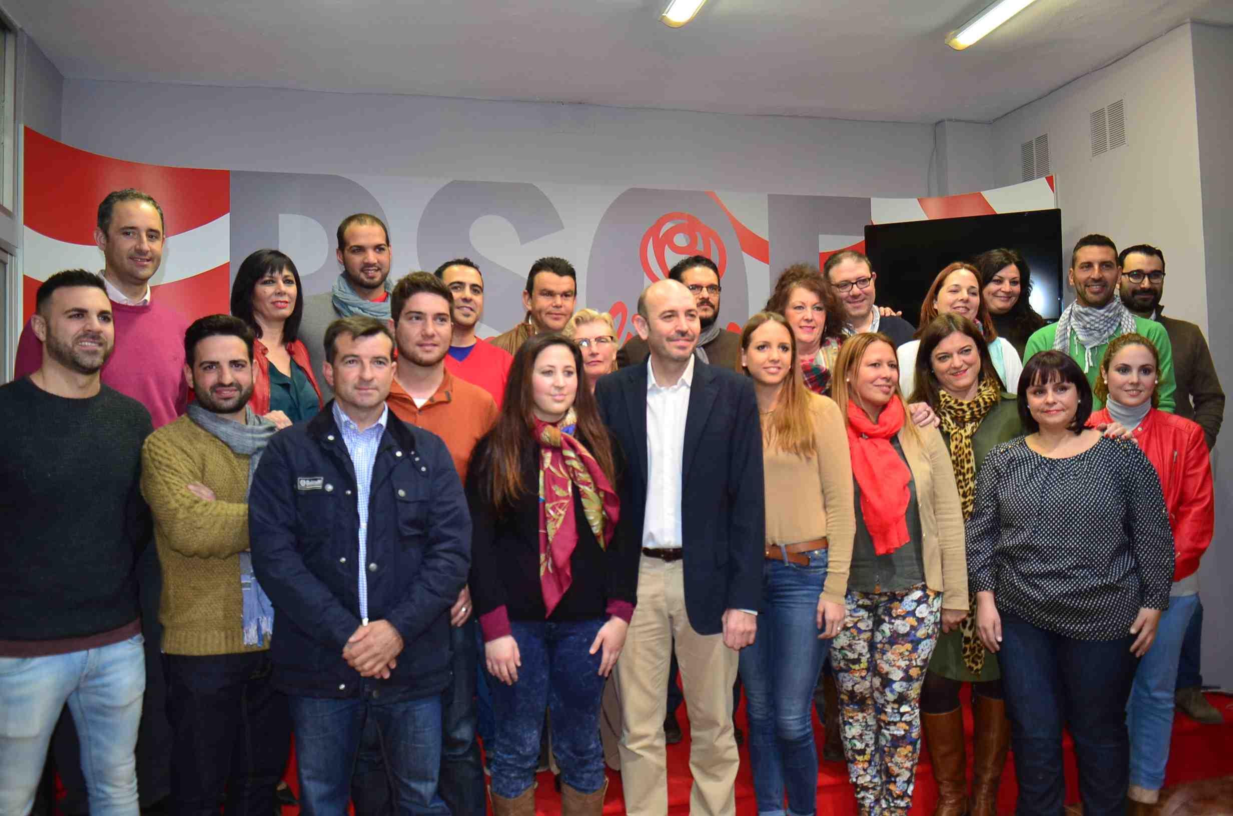 El PSOE de Cártama presenta su candidatura para las próximas elecciones municipales