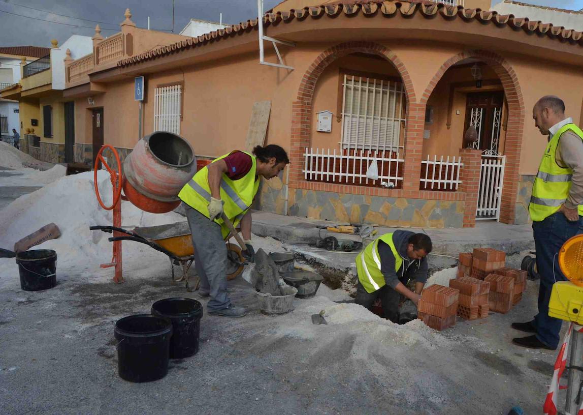El Ayuntamiento acomete varias obras de emergencia en el municipio tras las inundaciones