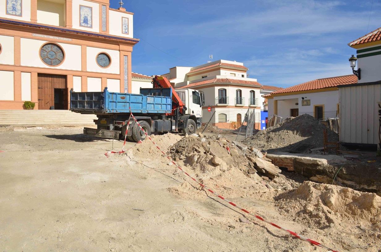 Comienzan las obras de remodelación de la plaza San Isidro en la Estación