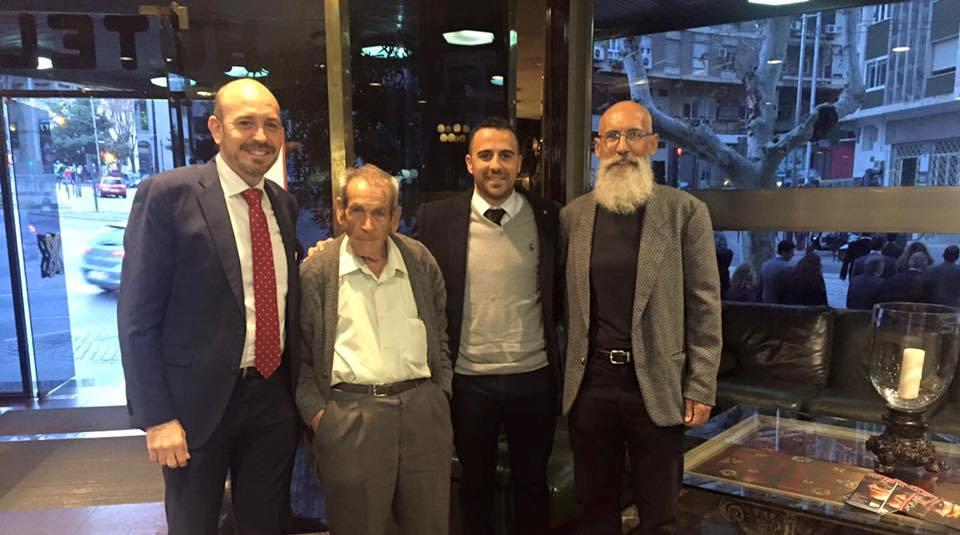 Súper Paco recibe el premio de los periodistas deportivos andaluces