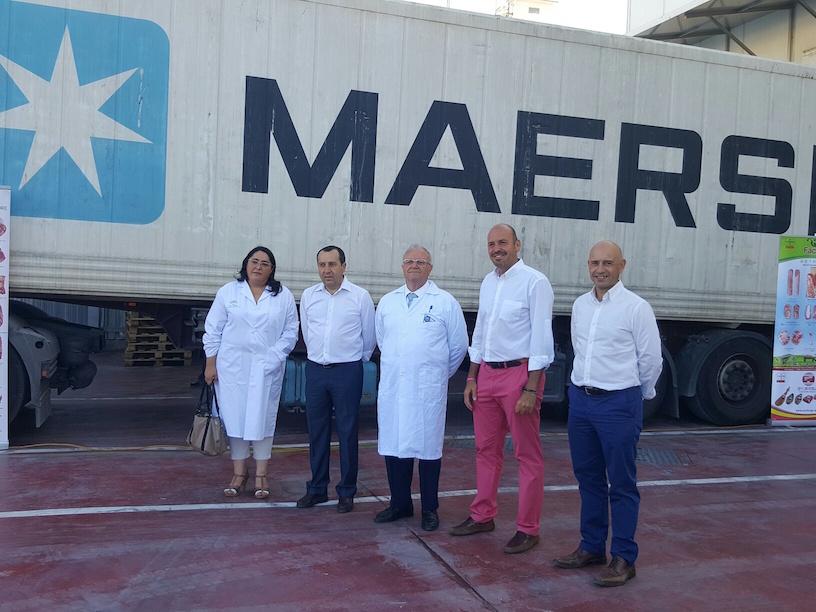 Prolongo inicia por primera vez en España la exportación de carne cruda de cerdo a México