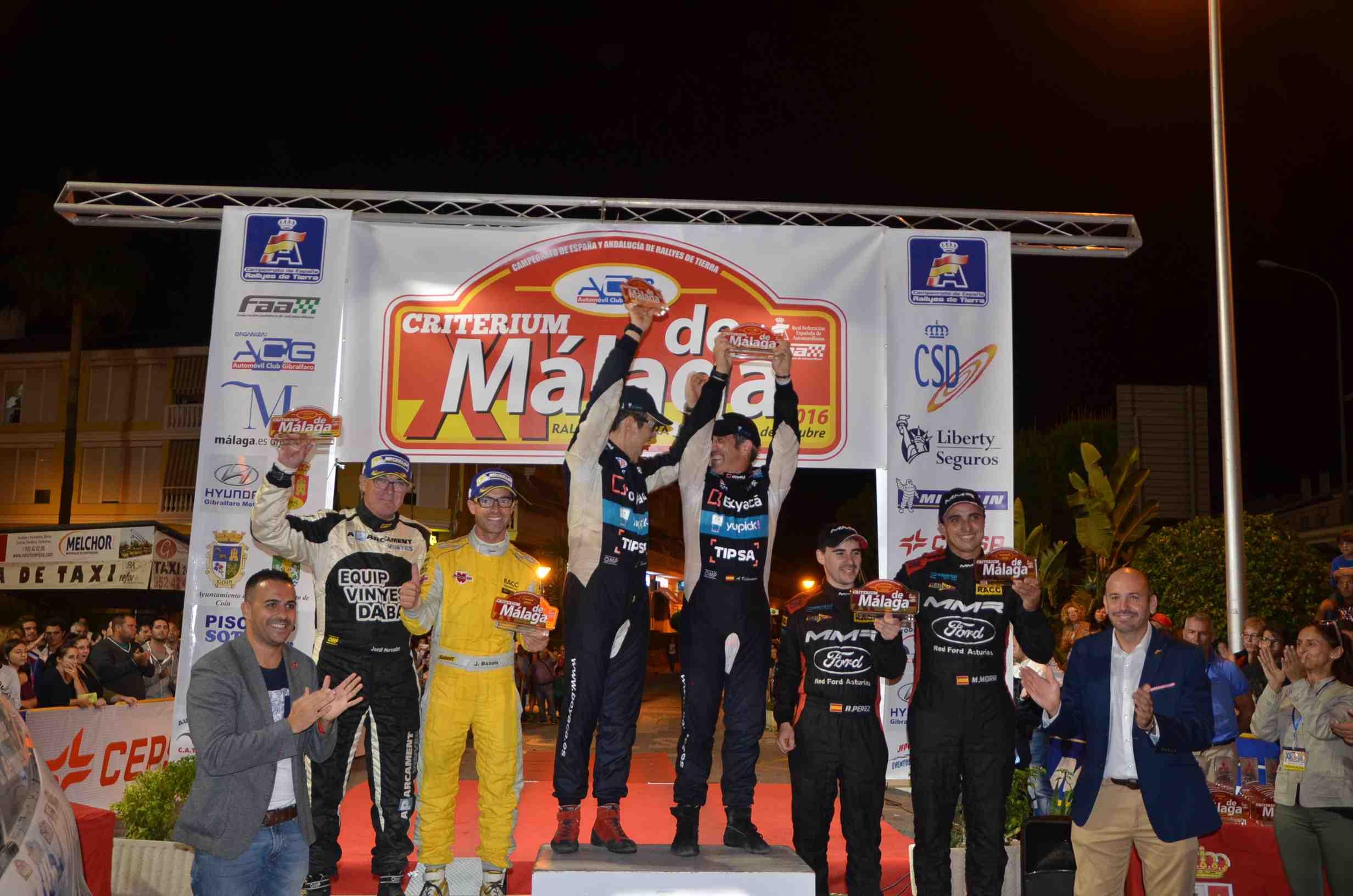 Así fue la undécima edición del Rally de Tierra Criterium, celebrado en Cártama