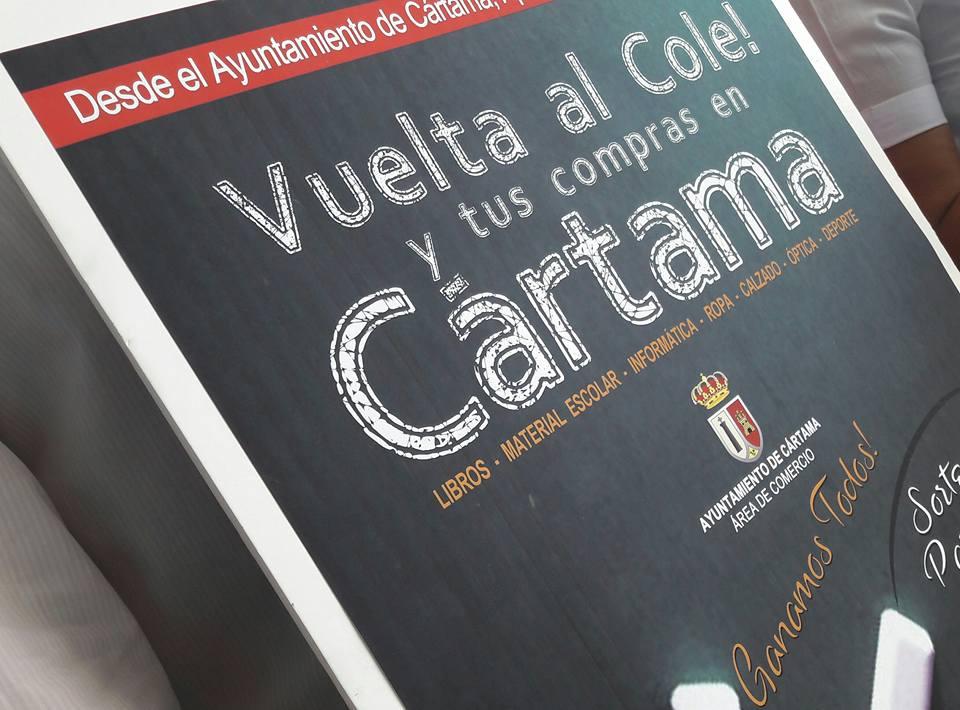 Última semana de la campaña 'Vuelta al cole: y tus compras en Cártama'