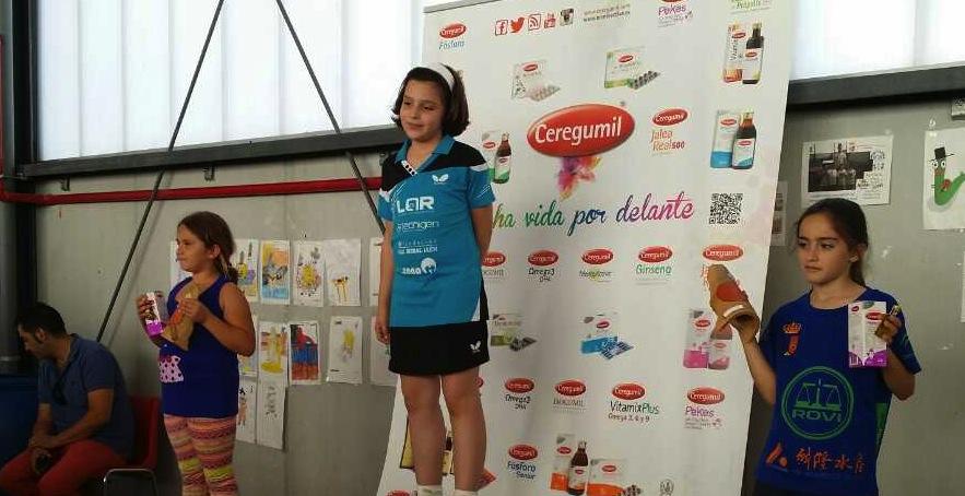 Gran éxito de la Escuela de Tenis de Mesa de Cártama en el II Top Andaluz de Futuras Estrellas