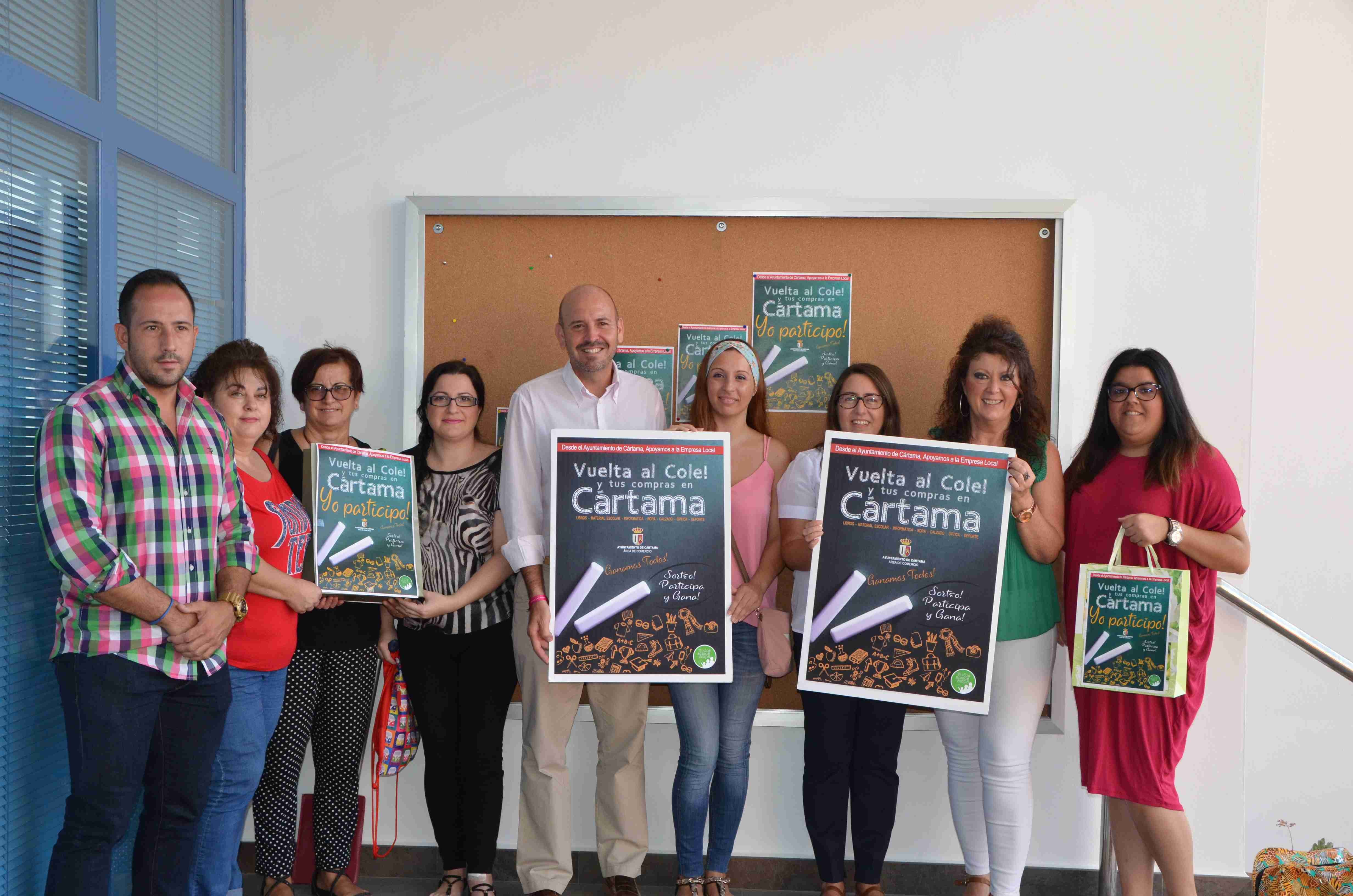 Lanzan una campaña para impulsar las compras de la vuelta al cole en los comercios del municipio